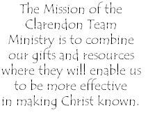 The Mission of the Clarendon Team Ministry is to combine our gifts and resources where they will enable us 